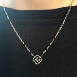 New KENDRA SCOTT LOGO DECKLYN PENDANT Necklace